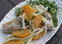 Sauteed Fish with Orange-Fennel Salad
