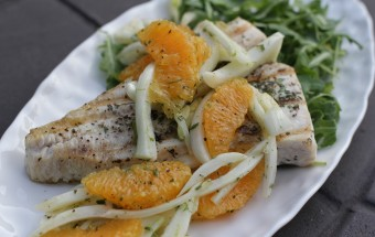 Grilled Whitefish with Orange Fennel Salad