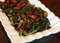 Southern Collard Greens and Andouille Sausage