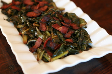 collard greens with bacon bacon collard greens braised collard greens ...