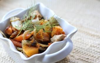 Chicken and Veggie Hash