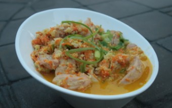 Coconut Ginger Chicken 1