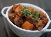 Crock Pot Beef Tagine with Butternut Squash