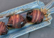 Chorizo-Stuffed Dates Wrapped in Bacon