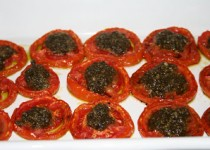 Slow-Roasted Pesto Tomatoes