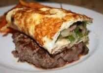Denver Omelette Burger