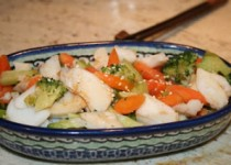 Chinese Takeout-Style Fish and Vegetables