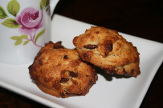 Chocolate Chip Scones (Almond Flour)