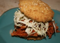 Barbecue Pulled Turkey Sandwiches