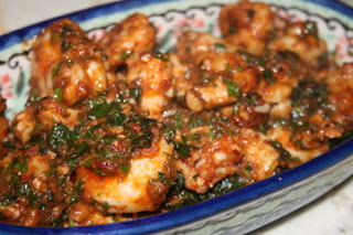 Chipotle Buttered Shrimp