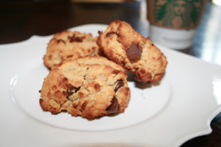 Coconut Flour Chocolate Chip Scones