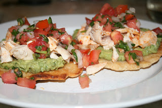 Chicken and Avocado Tostadas 2