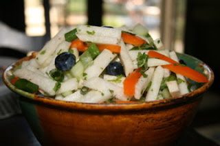 Jicama Blueberry Salad
