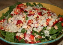 Strawberry Salad with Poppyseed Dressing