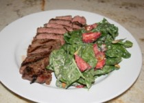 Grilled NY Strips