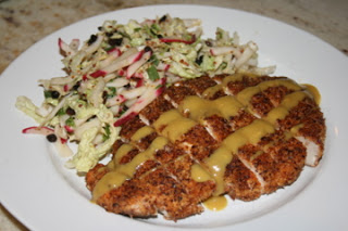 salmon hazelnut crusted halibut with a wild salmon steak that s 510689 ...