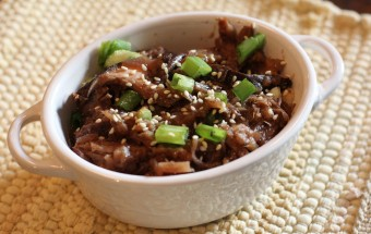 Crock Pot Moo Shu Beef