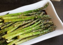 Roasted Asparagus with Balsamic Drizzle