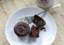 Flourless Chocolate Cake Bites