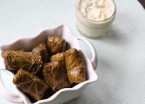 Dolmas (Greek Stuffed Grape Leaves)