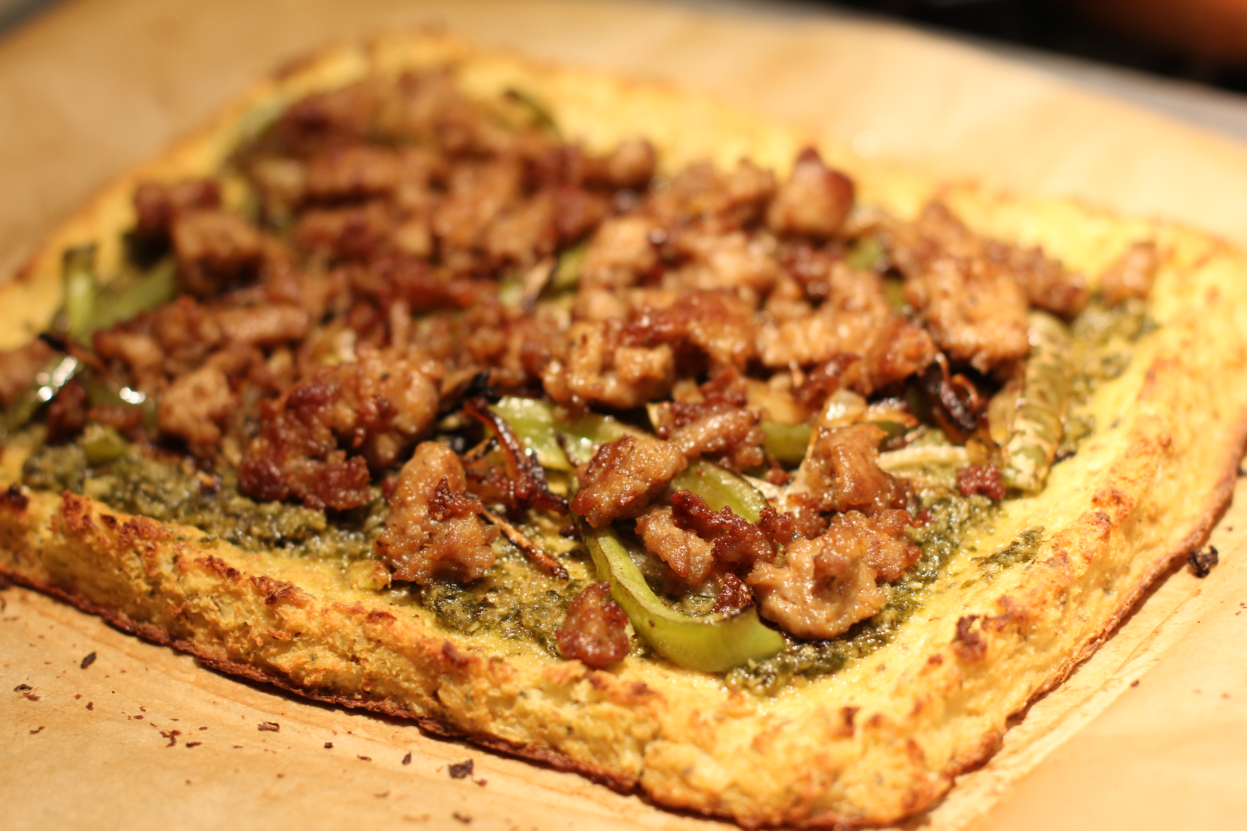 Paleo Table - Cauliflower Crust Pizza