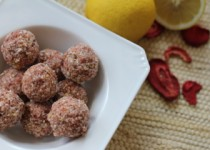 Berry-Lemon Truffles