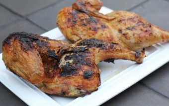 Grilled Whole Chicken
