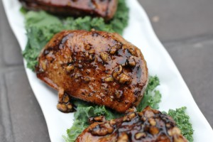 Duck Breast with Honey Balsamic Glaze
