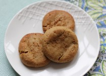 Ginger Cookies (grain-, dairy-, and egg-free)
