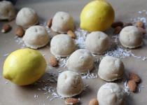 Lemon Macaroon Meltaways (Raw)