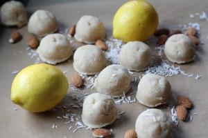 Lemon Meltaway Macaroons
