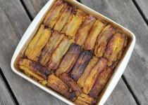 Puerto Rican Sweet Plantain Lasagna (egg-free)