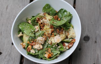 stuffed chicken salad