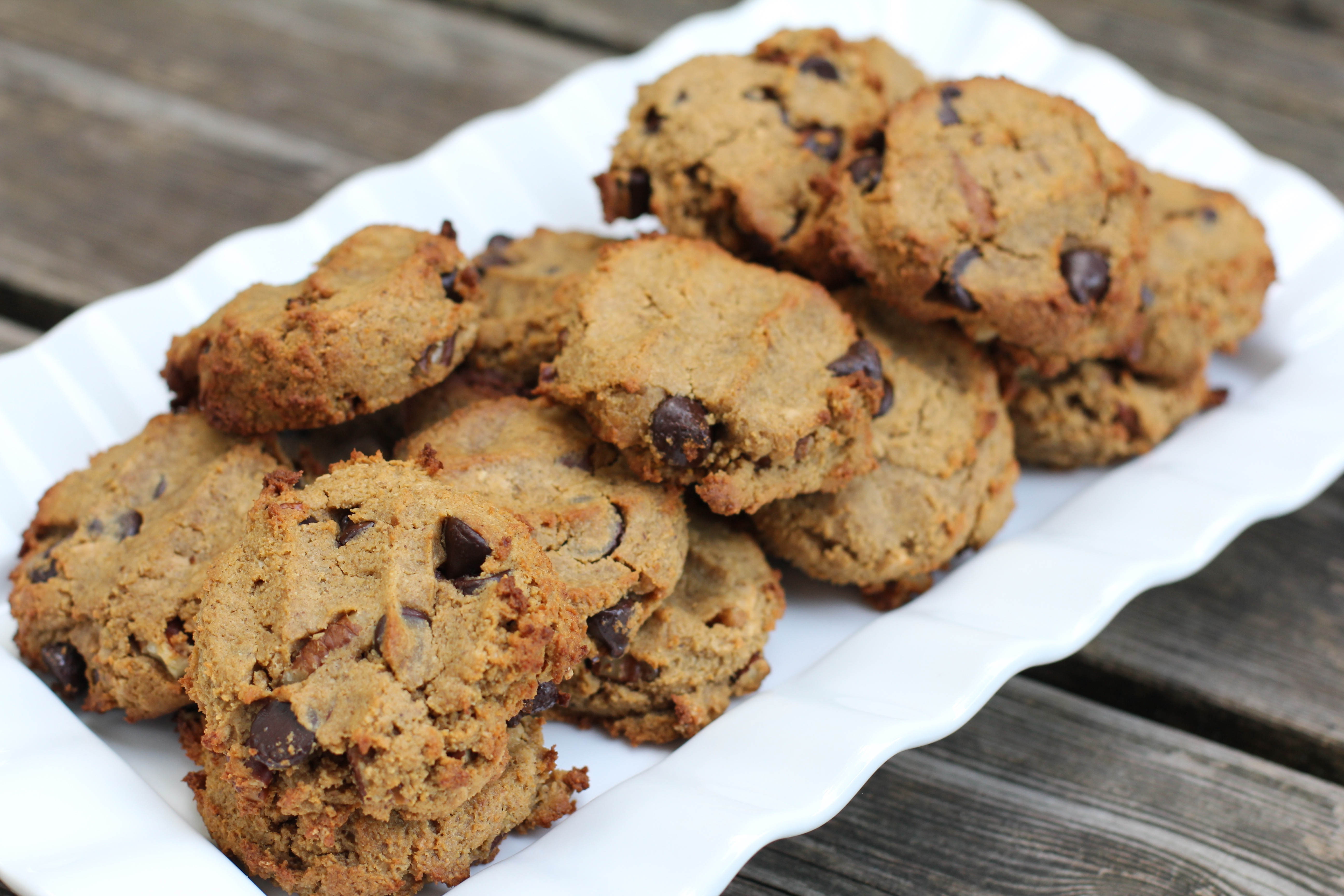 Paleo table pumpkin breakfast cookies egg free well malvernweather Choice Image